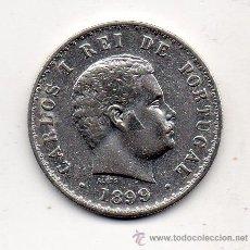 Monedas antiguas de Europa: PORTUGAL. 500 REIS. AÑO 1899. PLATA.. Lote 41594296