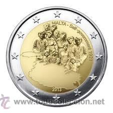 MONEDA CONMEMORATIVA DE 2 € MALTA 2013 (Numismática - Extranjeras - Europa)
