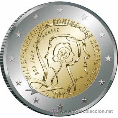 MONEDA CONMEMORATIVA DE 2 € HOLANDA 2013 (Numismática - Extranjeras - Europa)
