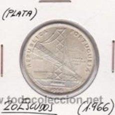 Monedas antiguas de Europa: PORTUGAL 20 ESCUDOS (PLATA) 1966. Lote 41710179