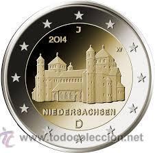 MONEDA CONMEMORATIVA DE 2 € ALEMANIA 2014 (Numismática - Extranjeras - Europa)