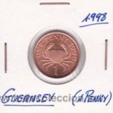Monedas antiguas de Europa: GUERNSEY 1 PENNY 1998. Lote 41757959