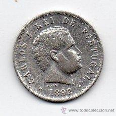 Monedas antiguas de Europa: PORTUGAL. 500 REIS. AÑO 1892. PLATA.. Lote 41762927