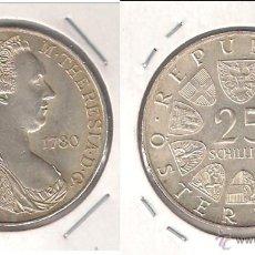 Monedas antiguas de Europa: MONEDA DE 25 CHELÍNES DE AUSTRIA DE 1967. PLATA. SIN CIRCULAR- (ME682). Lote 42072848