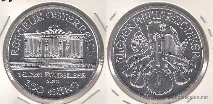 MONEDA DE 1,50 EURO DE AUSTRIA DE 2013  PLATA  SIN CIRCULAR  (ME744)