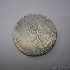 Monedas antiguas de Europa: GENOVA , ITALIA. 8 LIRAS DE PLATA DE 1792. MUY ESCASA. Lote 42133114