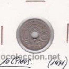 Monedas antiguas de Europa: FRANCIA 10 CTMOS. 1931. Lote 42161406