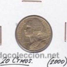 Monedas antiguas de Europa: FRANCIA 20 CTMOS. 2000. Lote 42162315