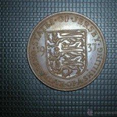 Monedas antiguas de Europa: JERSEY 1/12 SHILLING 1937 (5291). Lote 128632151