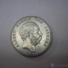 Monedas antiguas de Europa: ALEMANIA , 5 MARCOS DE 1902 E. PRINCIPE ALBERTO I DE SAJONIA. Lote 42194653