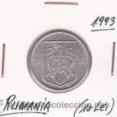 Monedas antiguas de Europa: RUMANIA 10 LEI 1993. Lote 42438224