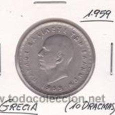 Monedas antiguas de Europa: GRECIA 10 DRACMAS 1959. Lote 42502315