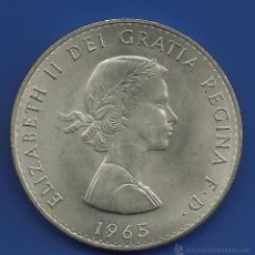 Monedas antiguas de Europa: GRAN BRETAÑA 1 CORONA (CROWN) 1960 CHURCHILL. Lote 144026540