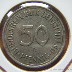 Monedas antiguas de Europa: MONEDA ALEMANIA FEDERAL. 50 PFENNIG 1991-D. Lote 42571413
