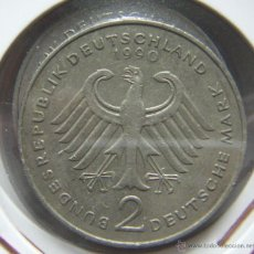Monedas antiguas de Europa: MONEDA ALEMANIA FEDERAL. 2 MARCOS 1990. Lote 42571537