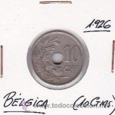 Monedas antiguas de Europa: BELGICA 10 CENTIMOS 1926. Lote 42669749
