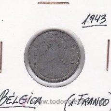 Monedas antiguas de Europa: BELGICA 1 FRANCO 1943. Lote 42670667