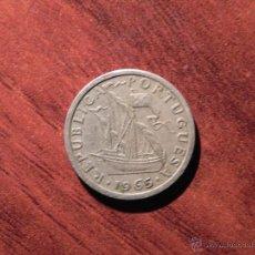 Monedas antiguas de Europa: VENDO MONEDA DE 2,50 ESCUDOS PORTUGUESES DEL AÑO 1965 (VER MÁS FOTOS EN EL INTERIOR).. Lote 42678936