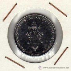 Alte Münzen aus Europa - Vaticano : 50 Lire 1975 ( XII ) Pablo VI Sin Circular - 42706896