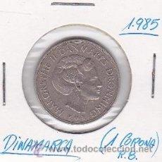 Monedas antiguas de Europa: DINAMARCA 1 CORONA 1985. Lote 42707275
