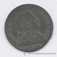 Monedas antiguas de Europa: ITALIA- CERDEÑA- 20 SOLDI-1794. Lote 42750534