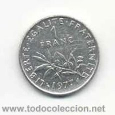 Monedas antiguas de Europa: MONEDA 1 FRANC 1977 . EUROPA . FRANCIA . Lote 42803458