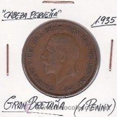 Monedas antiguas de Europa: GRAN BRETAÑA 1 PENNY 1935. Lote 42831394