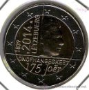 Monedas antiguas de Europa: MONEDA CONMEMORATIVA DE 2 €. LUXEMBURGO 2014. Lote 144414654