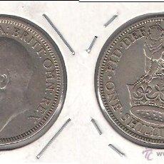 Monedas antiguas de Europa: MONEDA DE UN CHELÍN DE INGLATERRA DE 1928 DEL REINADO DE JORGE V. PLATA. BC. (ME991).. Lote 43024909