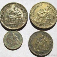 Monedas antiguas de Europa: FRANCIA -4 DE LA CAMARA DE COMERCIO. Lote 43146081