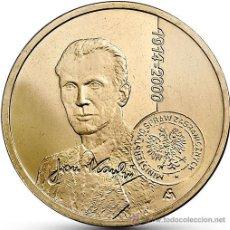 Monnaies anciennes de France: POLONIA 2 ZLOTE 2014 CENTENARIO JAN KARSKI. Lote 222562352