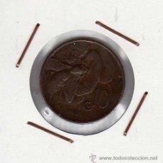 Monedas antiguas de Europa: ITALIA : 10 CENTESIMI 1921 R MBC . Lote 43520475