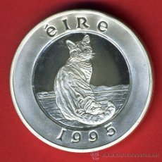 Monedas antiguas de Europa: MONEDA IRLANDA EIRE , 25 ECU ECUS 1995 , PLATA PROOF ,ORIGINAL, 43. Lote 43708979