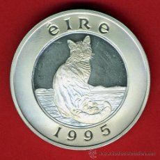 Monedas antiguas de Europa: MONEDA IRLANDA EIRE , 25 ECU ECUS 1995 , PLATA PROOF ,ORIGINAL, 44. Lote 43708985