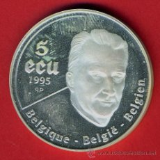 Monedas antiguas de Europa: MONEDA BELGICA , 50 ECU ECUS 1995 , PLATA PROOF , ORIGINAL, 57. Lote 43709721