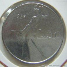 Monedas antiguas de Europa: ITALIA 50 LIRAS 1978. Lote 43718870