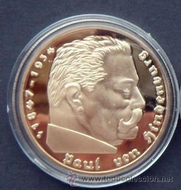 Moneda Oro Alemania Nazi 5 Reichsmark 1938 Paul Comprar Monedas