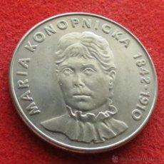 Monedas antiguas de Europa: POLONIA 20 ZL 1978 KONOPNICKA. Lote 216719820