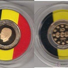 Monedas antiguas de Europa: MONEDA DE 10 ECU DE BÉLGICA DE 1991. SIN CAPSULA. ORO. PROOF. (059).. Lote 45358004