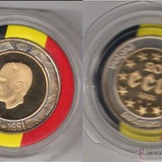 Monedas antiguas de Europa: MONEDA DE 20 ECU DE BÉLGICA DE 1991. SIN CAPSULA. ORO. PROOF. (062).. Lote 45358420