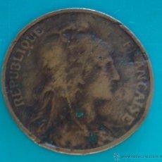 Monnaies anciennes de Europe: MONEDA DE FRANCIA 5 CENTIMOS AÑO 1913 REPUBLIQUE FRANCAISE. Lote 45634509