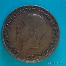 Monedas antiguas de Europa: MONEDA DE GRAN BRETAÑA 1 PENNY AÑO 1936 DE JORGE V CABEZA PEQUEÑA. Lote 45648615