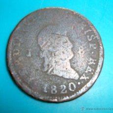 Monedas antiguas de Europa: MONEDA DE 8 MARAVEDIES AÑO 1820 CECA JUBIA. Lote 45648906