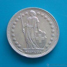 Monedas antiguas de Europa: MONEDA DE PLATA DE SUIZA 1 FRANCO AÑO 1946. Lote 45658914
