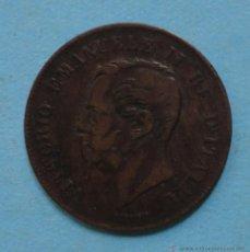 Monedas antiguas de Europa: ITALIA 5 CENTESIMI 1862. Lote 45691648