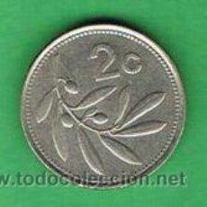 Y902 Malta 2 Cents 1995