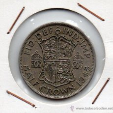 Monedas antiguas de Europa: GRAN BRETAÑA : HALF CROWN 1948 MBC+. Lote 45888765