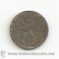 Monedas antiguas de Europa: ANTIGUA Y ESCASA MONEDA EN CALAMINA 1916 BELGICA VALOR 5 CENT 2,50GR-18MM. MBC-. Lote 46311643