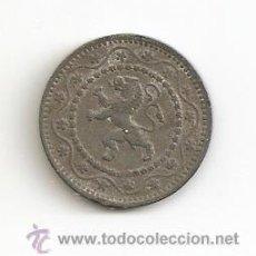 Monedas antiguas de Europa: ANTIGUA Y ESCASA MONEDA EN CALAMINA 1916 BELGICA VALOR 10 CENT 4GR-22MM. MBC. Lote 46311667