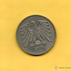 Monedas antiguas de Europa: MM. MONEDA 5 MARCOS BUNDESREPUBLIK DEUTSCHLAND. 1975. DEUTSCHE MARK. VER FOTOS. BONITA. Lote 46468595